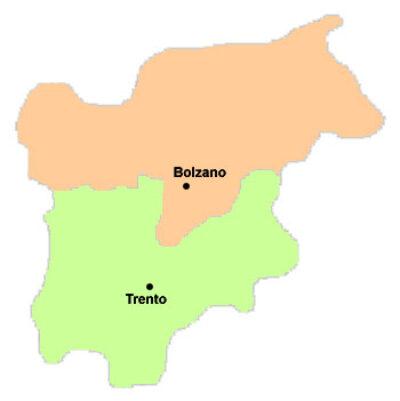 Tatuatori e Piercers Trentino-Alto Adige